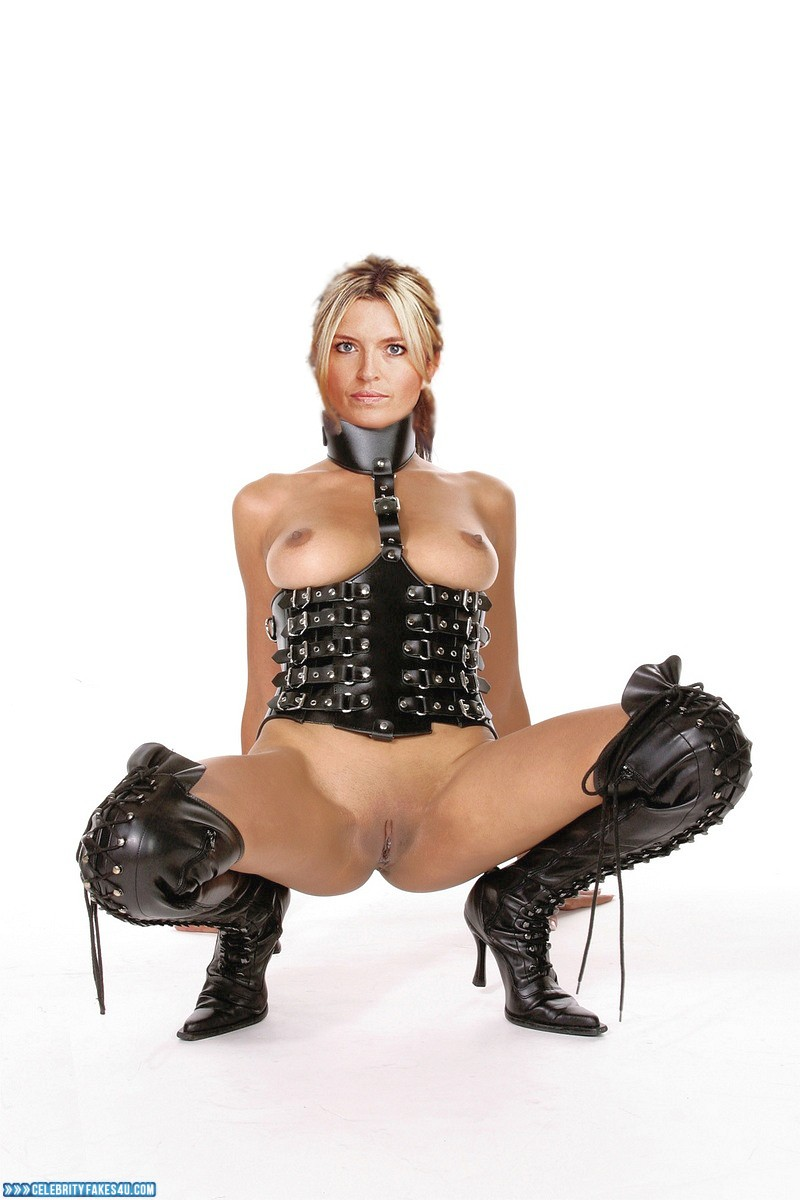 Tina Hobley Fake, BDSM, Legs Spread, Lingerie, Very Nice Tits, Porn
