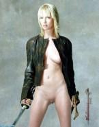 Uma Thurman No Underwear Kill Bill Porn 001