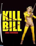 Uma Thurman Without Underwear Kill Bill 001