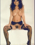 Valerie Bertinelli Large Tits Hairy Pussy Nude Fake 001