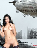 Vanessa Hudgens Pantieless Hot Tits Porn 001