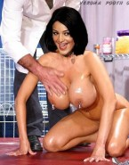 Verona Pooth Wet Large Tits Naked 001