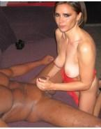 Victoria Beckham Interracial Breasts Sex 001