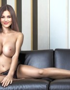 Victoria Justice Big Tits Panties Naked Fake 001
