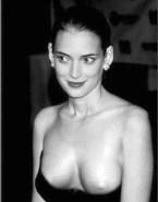 Winona Ryder Nipple Slip Public Porn 001