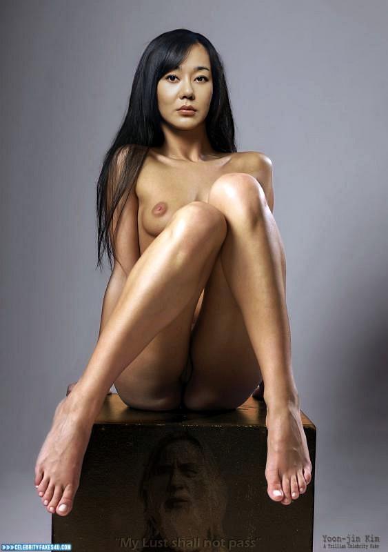 Yunjin Kim Fake, Camel Toe, Feet, Nude, Pussy, Tits, Porn
