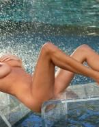 Yvonne Strahovski Wet Squeezing Tits Porn Fake 001