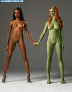 Zoe Saldana Lesbian Guardians Of The Galaxy Porn 001