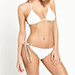 South Beach Crochet Triangle Bikini Set
