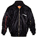 Vetements Total Darkness-embroidered Bomber Jacket