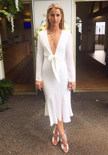 Vogue Williams Instagram - Maurie & Eve Long Sleeve Dress