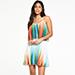 V by Very Printed Pleated Mini Dress