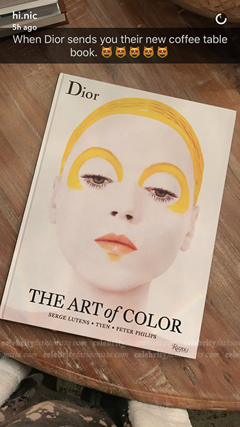 Nicole Guerriero Snapchat — Dior: The Art of Color Coffee Table Book