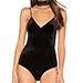 Misa Los Angeles Naomi Bodysuit, Jet Black
