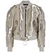 OFF-WHITE Metallic taffeta bomber jacket