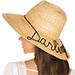 Eugenia Kim Rhinestone Embellished Hat