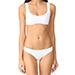 Solid & Striped Elle Bikini in White