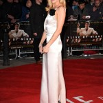"Sienna Miller in Lanvin Draped Satin Gown at ""Live By Night"" London Premiere (Jan 11, 2017)"