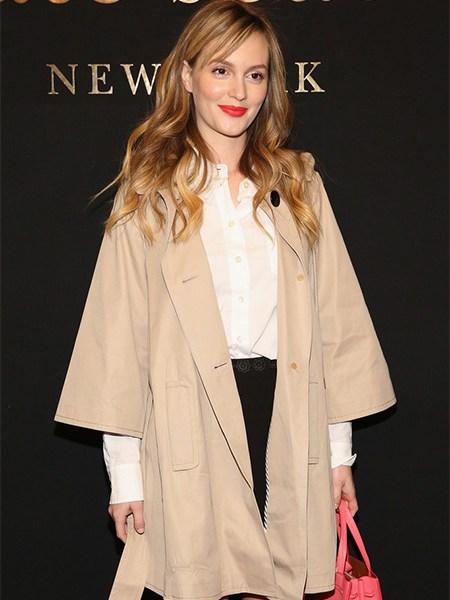 Leighton Meester Kate Spade New York Spring 2017 Fashion Show (Feb 10, 2017)
