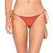Acacia Swimwear Humuhumu Bikini Bottom in Peach
