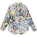 Gucci Flora Print Silk Pajama Oversize Shirt