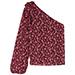 Ulla Johnson Enid one-shoulder blouse