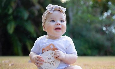 Chandler and Bindi share adorable posts to celebrate their daughter turning six months old