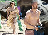 Zoë Foster Blake looks chic at Sydney beach with shirtless husband Hamish and their brood