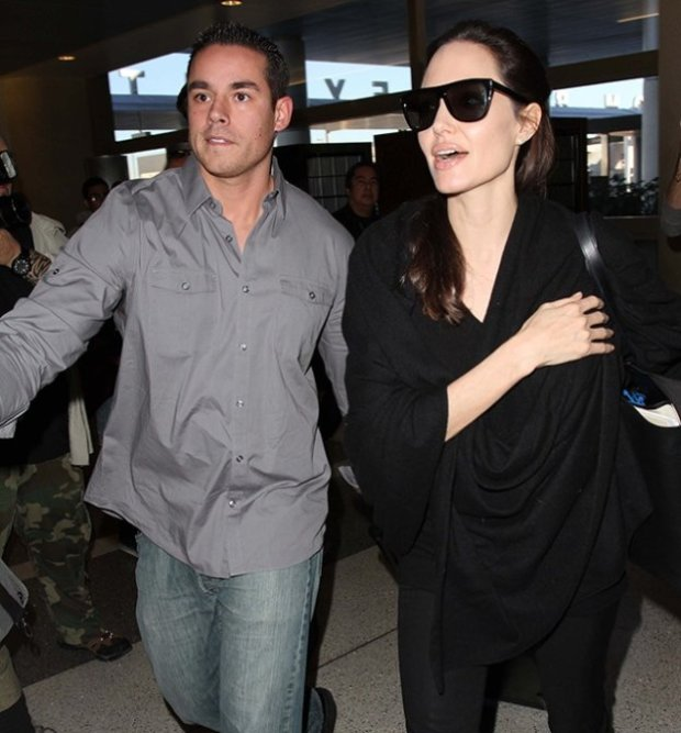 ANGELINA JOLIE'S BODYGUARD|7 Hottest Bodyguards In Hollywood|See More At: http://celebritygossiper.com/7-hottest-bodyguards-in-hollywood/