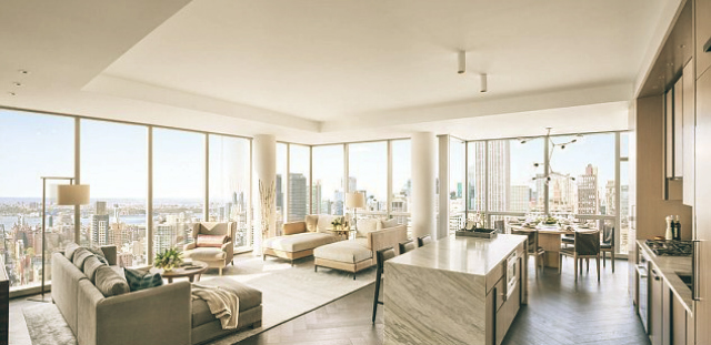 Tom Brady and Gisele Bundchens Condo in New York  Terez