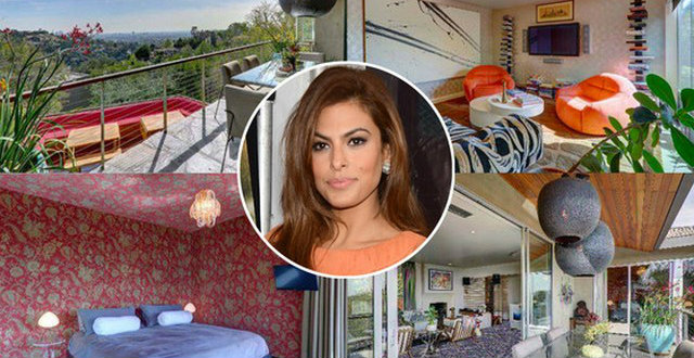 Celebrity-Homes-Eva-Mendes-House