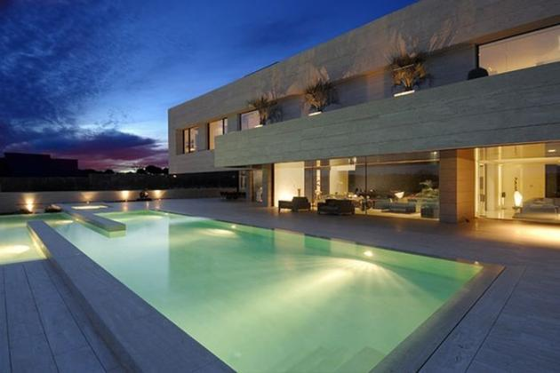 Cristiano Ronaldos Madrid Home in a TV commercial  Celebrity Homes