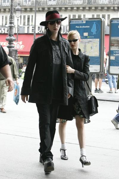 Evan Rachel Wood and MarilynManson
