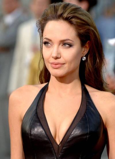 Angelina Jolie Favorite Things Color Food Music Books Perfume