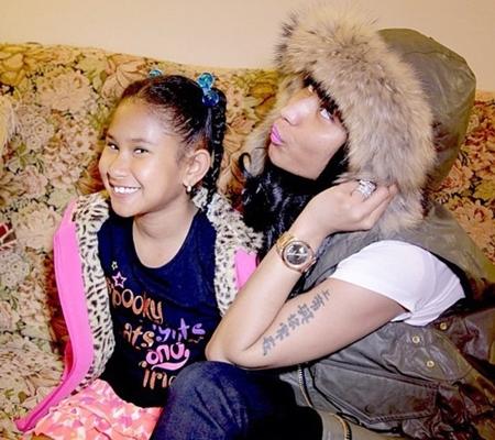 Nicki Minaj Sister