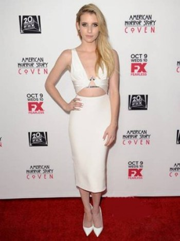 Emma Roberts Height Body Shape