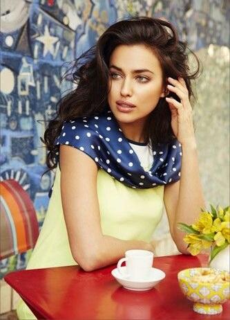 Irina shayk favorite food movie books music hobbies biography - Cuisine irina ...