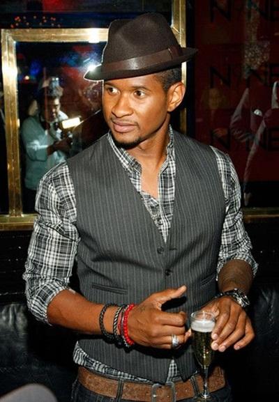 Usher biography married