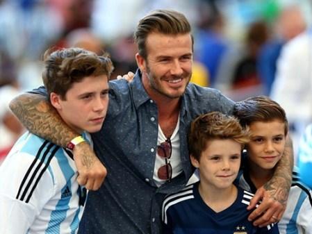 David Beckham Car Crash