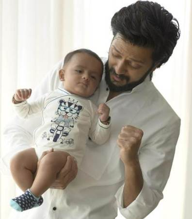 Riteish Deshmukh and Genelia D'Souza Baby Pictures