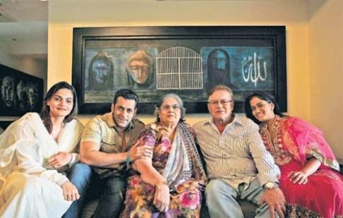Salman Khan Parents