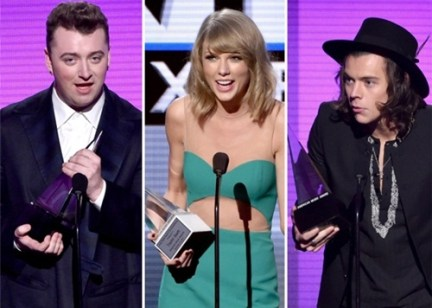 Winners List of American Music Awards 2015
