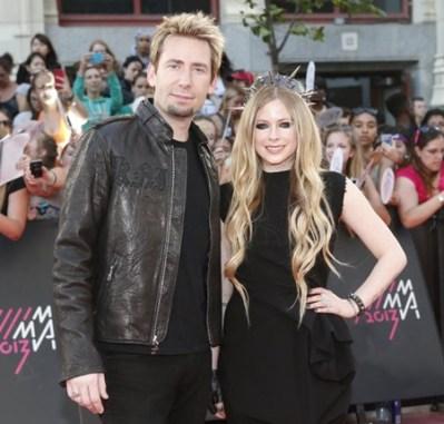 Avril Lavigne Husband Chad Kroeger