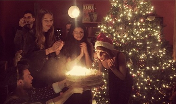 Selena Gomez Sends Sweet Birthday Message to Taylor Swift