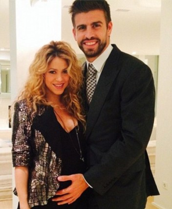 Shakira and Gerard Pique Second Baby Son Name Pictures