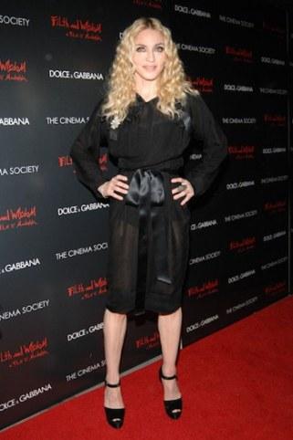 Madonna Body Measurements