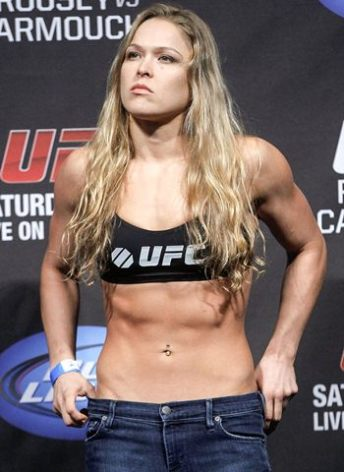 Ronda Rousey Bra Size Height Weight