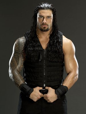 roman reigns body measurements biceps shoe size height weight stats