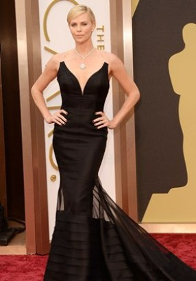 Charlize Theron Height Body Shape Type