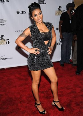 Keyshia Cole Height Body Shape
